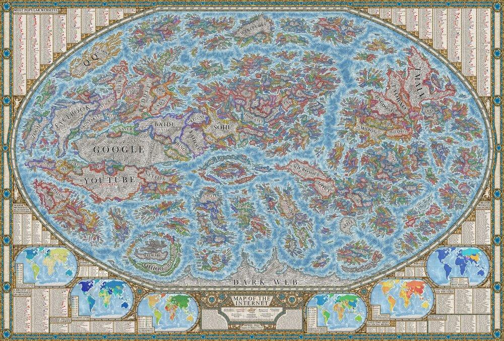 mapa de internet 2021